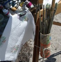 Outdoor painting tips